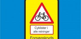 """Video fra Danmarks første """"Supercykelkryds"""""""