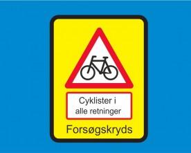 Første forsøg med supercykelkryds i Danmark