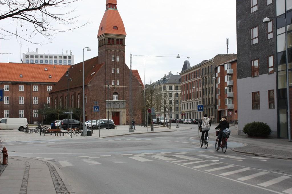 Rundkørsel foto udsnit Frederiksberg