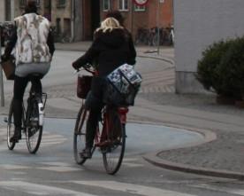 Cykelvenlig rundkørsel på Frederiksberg