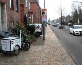 Stigende cykeltrafik i Odense