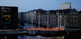 Cirkelbroen på Christianshavn giver bedre adgang for cyklisterne