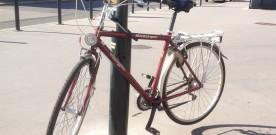 Cykelparkering ved busstoppesteder