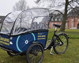 Gratis lån af ladcykler i Odense