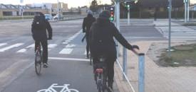 Effekten af cyklistgelændere