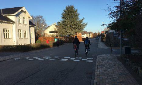Cyklisters sikkerhed ved forbikørsel