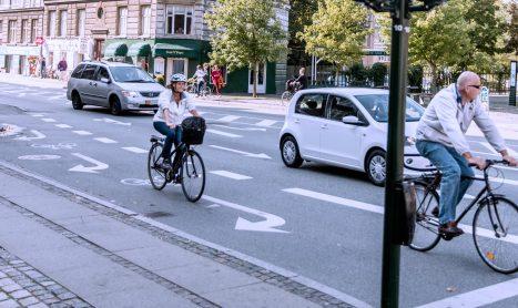 Vejtekniske løsninger for cyklister