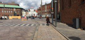 Ny cykelrute på Filosofgangen i Odense